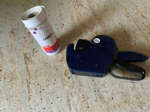 Perco Two Line Label Maker Price Gun J2117 88951 21 88 2851