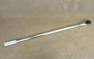 Snap On 3 4 Drive Torque Wrench Model Qd4r600 120 600 Ft Lb 43 Calibrated