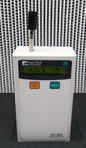 Met One Gt 321 Calibrated Handheld Particle Counter