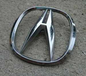 Acura Trunk Emblem Badge Decal Logo Chrome Rsx Tsx Tl Oem Factory Genuine Stock