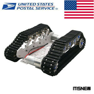 Robot Tank Chassis Metal Independent Suspension System Tracked Vehicle Diy Kitus