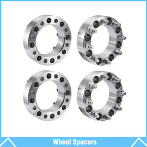 4pcs 2 Wheel Spacers 8 Lug Adapter 8x170 For Ford F250 Sd Chevy Express Gmc