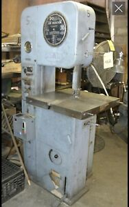Doall Bandsaw With Blade Welding Attachment Model Ml5216364