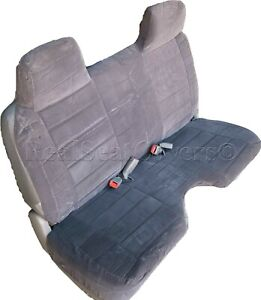 A27 Dg Compact Truck Rcab Xcab Large Notched Cushion Bench Charcoal Seat Cover