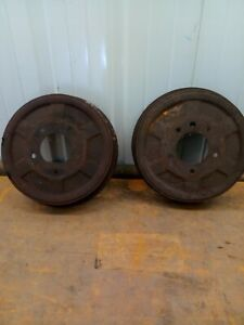 36 37 38 39 40 41 48 49 50 1936 1950 Chevy Car Truck Gm Brake Drums Pair