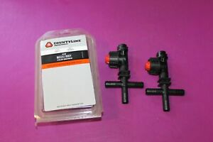 Two 2 Nos Tractor Supply Nozzle Body For 1 2 Dry Boom Sprayer Part 2300511