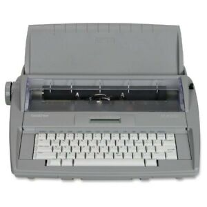 Brother Portable Electric Typewriter Model Sx 4000 Grey Used