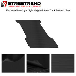 For 2002 2018 Dodge Ram 5 7 Ft Short Cab Rubber Truck Bed Floor Mat Liner V2