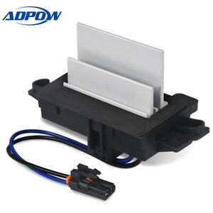 Blower Motor Resistor Fit For 03 06 Chevrolet Silverado Ac Blower Control Module