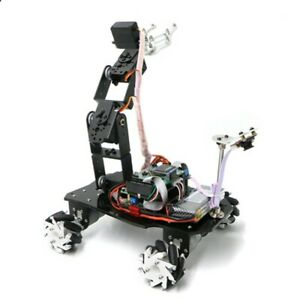 Mecanum Wheel Robot Car Chassis mechanical Robotic Arm Without Suspension System