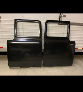 1956 Ford Pickup Doors Pair These Fit All f Series Trucks F 100 And Up