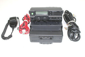Motorola Pm1200 Low Band Radio 37 50 Mhz 120 Watts Tk 6110 Tk 690 Vertex