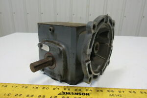 Boston Gear F718 10 b5 h Gear Reducer 10 1 1 43hp 5 8 To 7 8 Shaft 175rpm Out