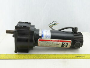 Bison 011 300 9194 Gear Motor 90vdc 1 4hp 34 1 Ratio 53 Rpm 274 In lbs