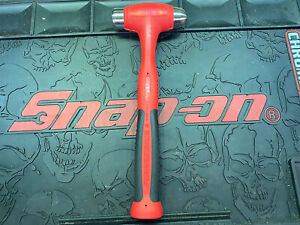 Snap On Tools Hbbd24 24 Oz Dead Blow Cushion Grip Ball Peen Hammer Red 2020