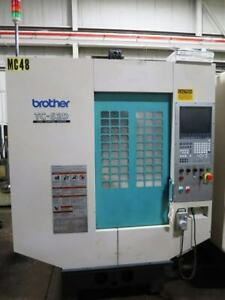 Brother Tc s2d 5 axis Nikken Table 16 000 Rpm 30 Taper 2009