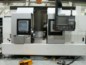 Okuma Lb3000exii My Bb 950 Cnc Turning Center Lathe With Live Tooling And Y axis