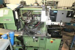Koepfer Model 153 Precision Gear Hobbing Machine With Loader