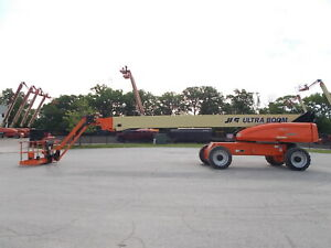 2007 Jlg 1350sjp 4x4 135ft Telescopic Boom Lift Man Lift Aerial Lift