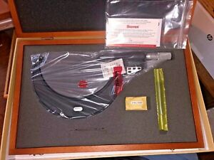 Starrett 733xflz 6 Electronic Outside Micrometer Edp64245 5 6 0001