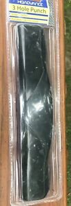 Hqadvance 3 hole Paper Punch No 28006 New 10 5 In
