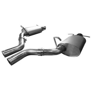 Kooks For 09 14 Cadillac Cts v Ls9 6 2l 2 1 2in Kooks Axle back Exhaust Ksh23