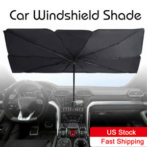 Truck Car Foldable Windshield Sun Shade Umbrella For Windshield Large Size