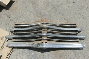 1946 1947 1948 Plymouth Grille Grill 19 Pieces Back Grille Support Of