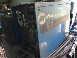 Miller Xr w Ext Reach Water Cooled Wire Feeder