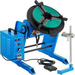 Welding Rotary Positioner Rotary Table Welding 100 50kg Adjustable Welding Table