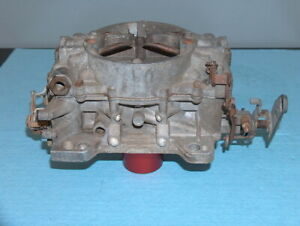 1962 1965 Chevy Impala 2x4 Dual Quad 409 Carter Afb Carburetor 4 Barrel 3361s