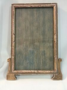 Antique Early 1900 S Wood Wall Picture Frame Art Decor 13 X 9 1 2 Frame