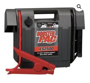 Booster Pac Es2500k 12 Volt Portable Battery Booster Pack New