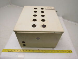 Hoffman A 14128ch Electrical Enclosure 14 X 12 X 8 W back Plate Type 12 13