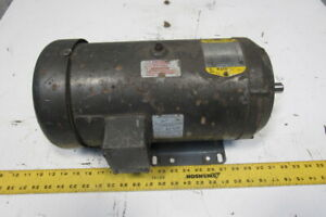 Baldor Cd6202 2hp Dc Electric Motor 184tc Frame 1750rpm