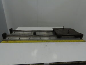 48 X24 Linear Rail Slide Assembly x y Axis 1 Round Rails