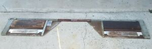 Vintage 1940 S Snap On Toe In Toe Out Alignment Drive On Platform
