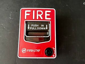 Fire lite Bg 12 Fire Alarm Pull Station Notifier Honywell