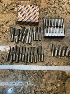 Detroit Tap Tool Co End Mill Router 2 Flute Assorted Lot J350
