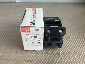 Federal Pacific Nb100 100 Amp 120 240 Volt 2 Pole Bolt In Breaker