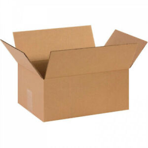 Corrugated Cardboard Shipping Packing Boxes 14 X 10 X 6 25 Pack Mailing Box