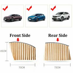 Car Window Covers Magnetic Front And Rear Universal Sun Shade Curtains