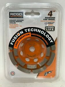 Ridgid 4 Diamond Cup Wheel