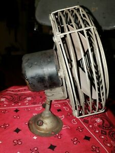 Vintage Car Truck 1940s 1950 s 12 Volt Dash Fan Chevy Ford Dodge