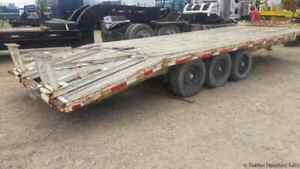 1998 Superior 3 a Flatbed W Dove Tail