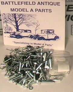 1930 1931 Model A Ford Closed Cab Pickup Top Wood Mounting Bolt Kit