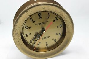 Chelsea Clock Co Boston U S Maritime Commission As Is Parts