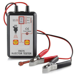 Em276 Car Fuel Injector System Analyzer Fuel Injector Tester Diagnostic Tool New