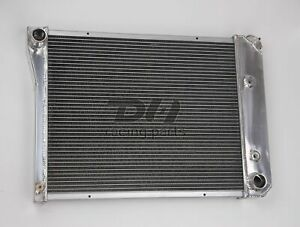3 Rows Aluminum Radiator For 1968 1974 Chevy Nova 70 81 Camaro 75 87 El Camino