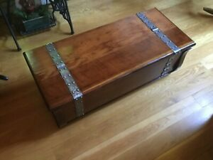 Vintage Trunk Chest Refinished
